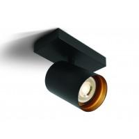 Lubinis šviestuvas The RETRO GU10 Spots 65105N/B