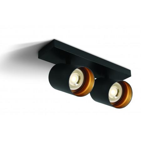 Lubinis šviestuvas The RETRO GU10 Spots 65205N/B