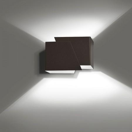 Sieninis šviestuvas FROST Wenge