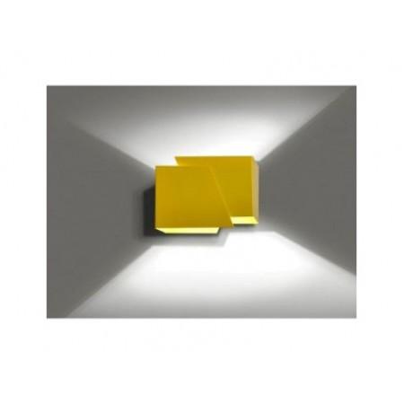 Sieninis šviestuvas FROST Yellow