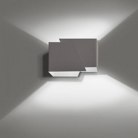 Sieninis šviestuvas FROST Grey