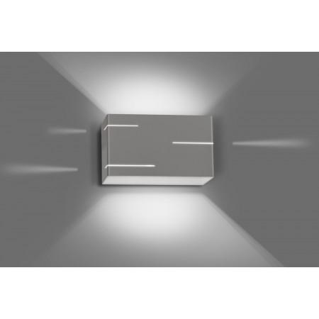 Sieninis šviestuvas LASER Grey